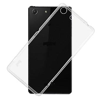 Sony Xperia M5 Transparent Rubber Shell,