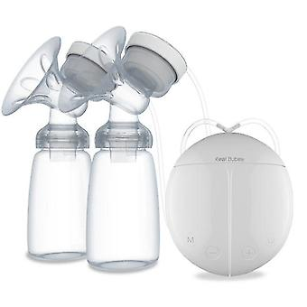 Bilateral Electric Breast Pump, Large Suction Power, Automatic Massage, Postpartum Lactation Device