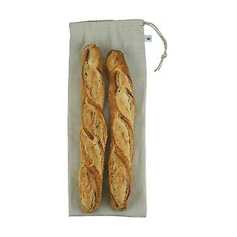 Zero waste shopping Linen baguette bag 1 unit