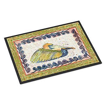 Caroline's Treasures Bird-Pelican Tappetino interno o esterno 18x27 zerbini, 18 x 27, Multicolor