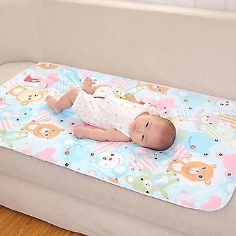 Cartoon Baby Diaper Changing Soft Cotton Mat