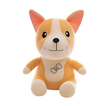Stuffed Animal Corgi Plush Toy Pillow, Sleeping Pillow Doll for Girl Boy, Ultra Soft
