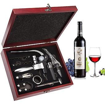 Smaier Weinffner-Set bestehend aus geflgeltem Korkenzieher und Flaschenffner, Edelstahl, Wein,