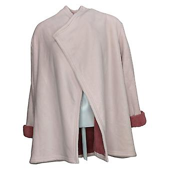 Koolaburra by UGG Women's Sweater Plush Cardigan Rib Detail Pink A386142