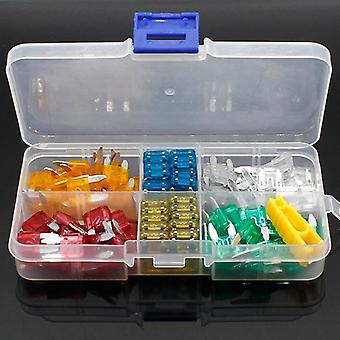 120pcs New Mini Auto Automotive Car Boat Truck Blade Fuse Box Assortment