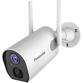 Panamalar 15000mAh Akku Outdoor Kamera, Kabellos WLAN 1080P Auen berwachungskamera mit Batterie/PIR