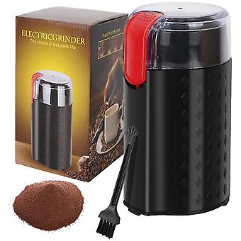 Electric Coffee Grinder, DZK Coffee Bean Grinder Electric Spice Grinder,Stainless Steel Blade, 50g