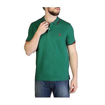 U.S. Polo Assn. - Vestuário - Polo - 59639-148 - Homens - darkgreen,darkred - L