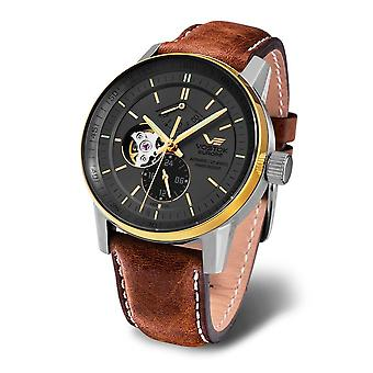 Vostok-Europe - Wristwatch - Men ' Limousine Tritium - YN84-565E551 leather