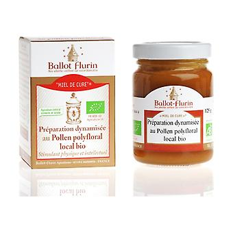Cure honey, dynamized preparation with local organic polyfloral pollen 125 g