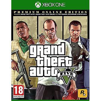 Grand Theft Auto V - Premium Online Edition Xbox One