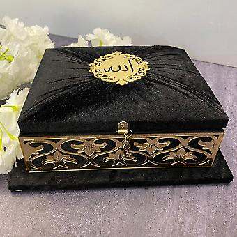 Holy Quran Set Velours couvert