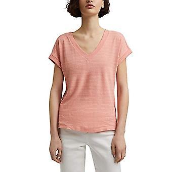 ESPRIT Collection 041EO1K321 T-Shirt, 860/salmon, S Donna