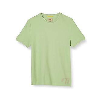 camel active H-T-Shirt 1/2 Arm, Green (Light Green 72), XL Men's