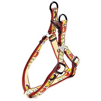 Arquivet Red Harness Flowers 2,5 Cm (Dogs , Collars, Leads and Harnesses , Harnesses)