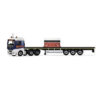 MAN TGX Flatbed & Load Diecast Model Lorry