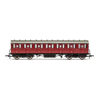 Hornby BR 51' Gresley Non-Vestibuled Förort Första E81032E Era 5 Modelltåg