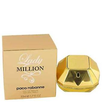 Lady Million Kirjoittanut Paco Rabanne Eau De Parfum Spray 1.7 Oz (naiset)
