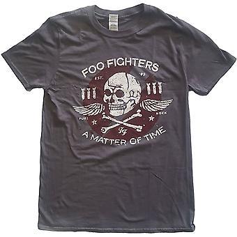 Foo Fighters - Matter of Time Unisex großes T-Shirt - grau