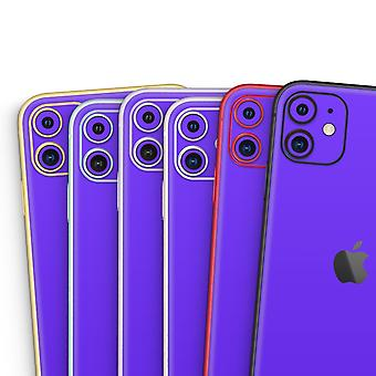 Solid Purple - Skin-kit Compatible With The Apple Iphone 12, 12 Pro