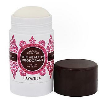 Lavanila Vanilla Grapefruit The Healthy Deodorant Stick, 2 Oz