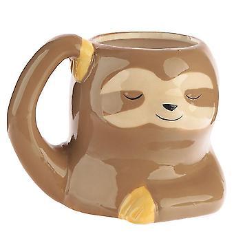 Sloth Ceramic Mug Painted Ceramic 3d  Animal Water Cup Coffee Cup