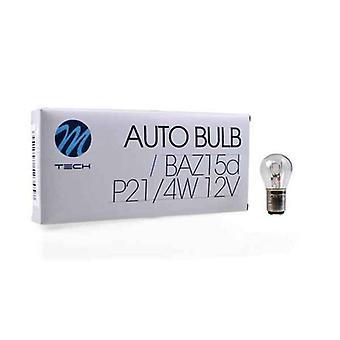 Ampoule automobile MTECZ37 M-Tech P21/4W 21/4W 12V (10 pcs)