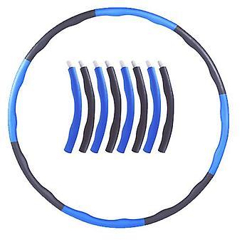 الأزرق مرجح هولا هوب البطن ممارسة اللياقة البدنية الأساسية قوة حولا هوب