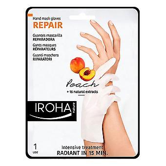 Hand Treatment Gloves Iroha Peach