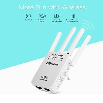 AC1200 WIFI リピータ/ルータ/アクセス ポイント AP ワイヤレス レンジ エクステンダ Wi Fi 信号アンプ