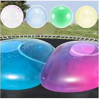 Homemiyn Kids Bubble Ball Toy Inflatable Water Ball Soft Rubber Ball Jelly Balloon Balls For Kids Outdoor Party