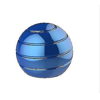Fuldt adskilt roterende desktop bold overførsel top fingerspids dekomprimering legetøj (BLÅ)