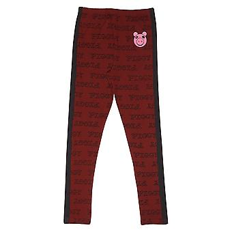 Piggy Face Hip Print Girls Leggings | Official Merchandise