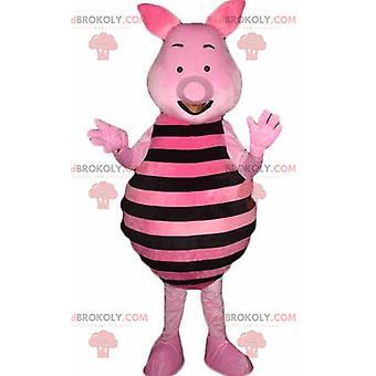 Mascotte REDBROKOLY.COM de porcelet du célèbre cochon rose de Winnie l'ourson