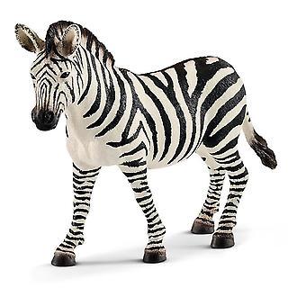 Wild Life Vrouwelijke Zebra Speelgoed Figuur