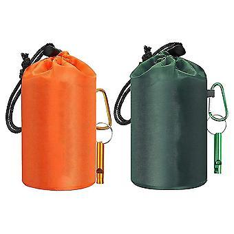 Bivy al aire libre saco de dormir de emergencia camping supervivencia térmica impermeable equipo de emergencia compacto