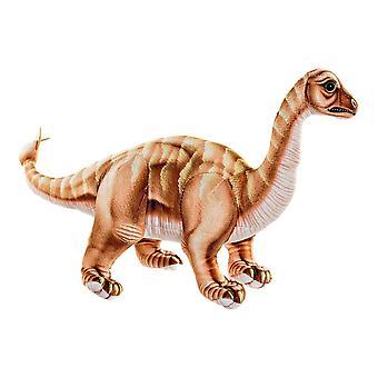Jouet moelleux DKD Home Decor Brown Polyester Dinosaur (45 x 16 x 26 cm)