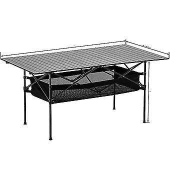 Tavolo pieghevole da picnic da campeggio all'aperto