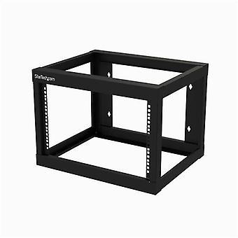 StarTech.com 6U väggmonterat rack - Öppen ram - 45,7 cm djup, Väggmonterad ra