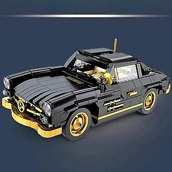 High Tech The Vintage Car Gullwing Building Blocks Educational Toy Birthdays Gift| Blocchi impilabili