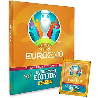 UEFA Euro 2020 Sticker Collection Hardcover & 18 Pakete