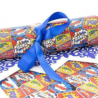 6 Bang Splat Pop Art Dots Cracker - Machen und füllen Sie Ihr eigenes Kit ohne Bänder