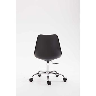 Office Chair - Desk Chair - Home Office - Modern - Black - Metal - 48 cm x 54 cm x 81 cm