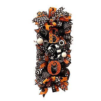 Halloween swag seppele syksy seppele etuovi roikkuu koriste halloween loma kotiin piha