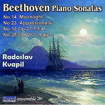 Radoslav Kvapil (Piano) - Beethoven: Piano Sonatas: importación de Estados Unidos no. 13 no. 1 [CD]