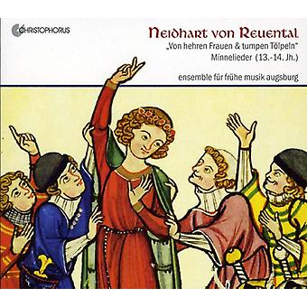 Ensemble De Musique Ancienne - Von Reuental: Minnelieder [CD] USA import