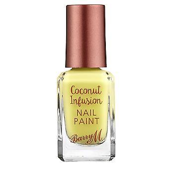 Barry M Coconut Infusion Nail Paint - Lemonade