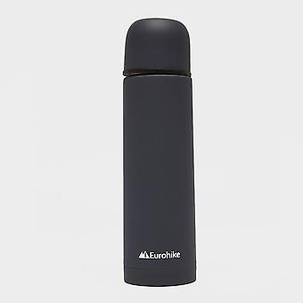 New Eurohike Rubberised 0.5L Flask Grey