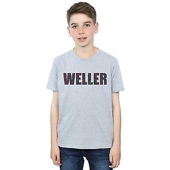 Paul Weller Boys Paisley Logo 2 T-Shirt