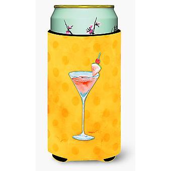 Sommer Martini gule Polkadot Tall Boy drikke isolator Hugger